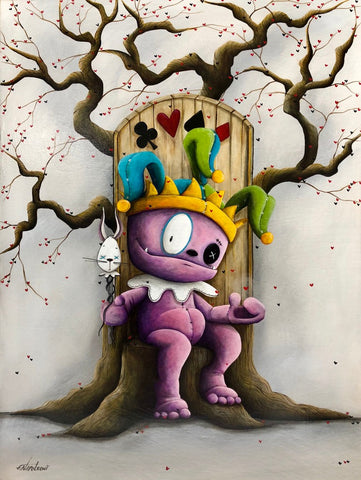 "Fabio Napoleoni ""Jokers Wild"" Limited Edition Paper Giclee"