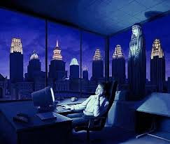 "Rob Gonsalves Rob Gonsalves "" Light of the late Night"" Giclée on Paper 6.5"" h x  7.5"" w Limited 395 Paper and Canvas Giclee"