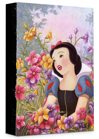 "Michelle St. Laurent Disney ""Love in Full Bloom"" Limited Edition Canvas Giclee"