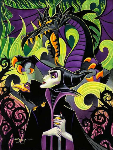 "Tim Rogerson Disney ""Maleficent's Fury"" Limited Edition"