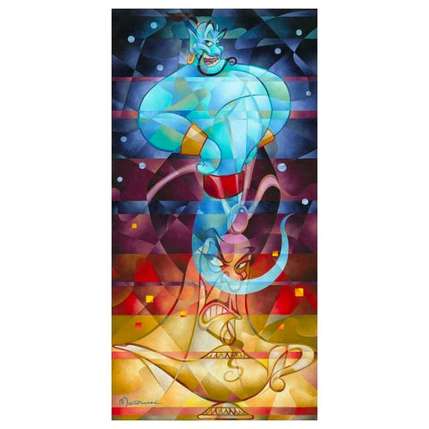 "Tom Matousek Disney ""Master of the Lamp"" Limited Edition Canvas Giclee"