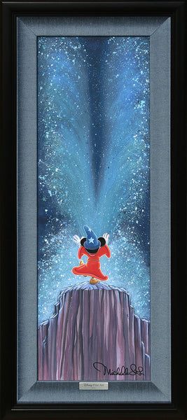 "Michelle St. Laurent Disney ""Apprentice Magic"" Limited Edition Canvas Giclee"