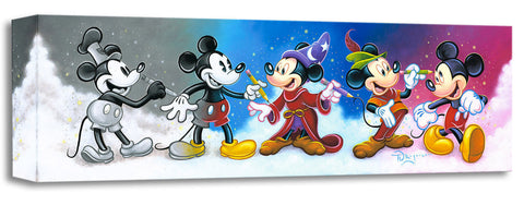 "Tim Rogerson Disney ""Mickey's Creative Journey"" Limited Edition Canvas Giclee"