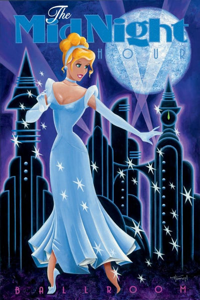 "Mike Kungl Disney ""Midnight Hour"" Limited Edition Canvas Giclee"