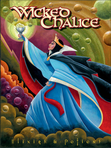 "Mike Kungl Disney ""Wicked Chalice"" Limited Edition Canvas Giclee"