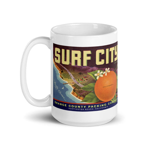 "Dean Torrence Merch ""Surf City"" 15 Oz. Mug"