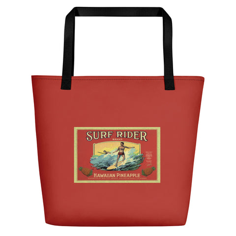 "Dean Torrence Merch ""Surf Rider"" Beach Bag"
