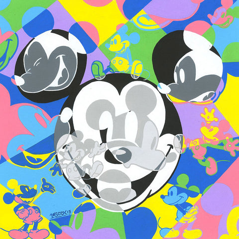 "Tennessee Loveless Disney ""Multi Mickey"" Limited Edition Canvas Giclee"