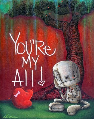 "Fabio Napoleoni ""My Treasure"" Open Edition Paper Giclee"