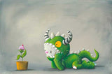 "Fabio Napoleoni-"" When one wonders "" - Limited Edition SN of 140- 21.5"" by 15""- Paper Giclee Print. - Art Center Gallery"