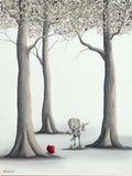 "Fabio Napoleoni-""Can't Complete My Journey""- Limited Edition S/N 43- 15"" by 20""- Paper Giclee - Art Center Gallery"