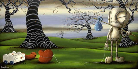 "Fabio Napoleoni ""Hope to Find What I've Been Looking For"" Limited Edition Canvas Giclee"
