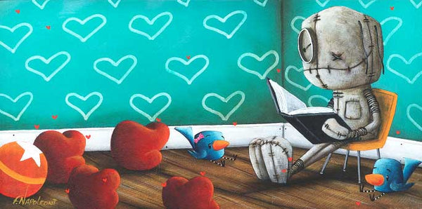 "Fabio Napoleoni ""A Tale for Dreamers"" Limited Edition Paper Giclee"