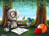 "Fabio Napoleoni-""Statment Made"" - Limited Edition SN of 131- 16"" by 20""-  Paper Giclee Print - Art Center Gallery"
