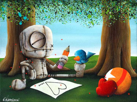 "Fabio Napoleoni ""Statement Made"" Limited Edition Paper Giclee"