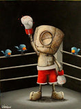 "Fabio Napoleoni-"" Ready for What ever lies Ahead ""- SOLD OUT Edition- 12"" by 15""- SOLD OUT PLEASE INQUIRE - Art Center Gallery"