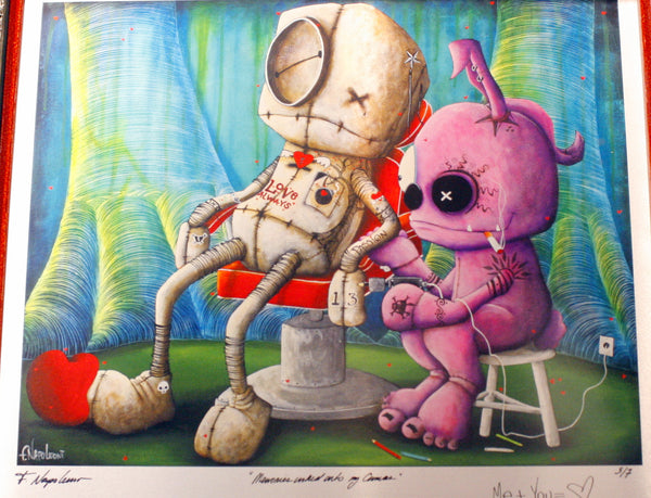 "Fabio Napoleoni ""Memories Inked on to my Canvas"" Open Edition Paper Giclee"