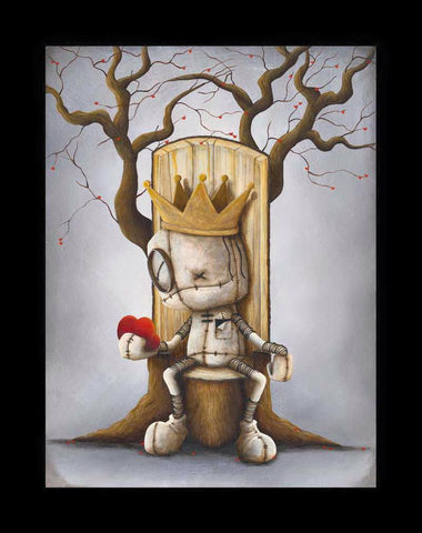 "Fabio Napoleoni-""King of Hearts""- Limited Edition  21"" by 27"" Paper Giclee - Art Center Gallery"