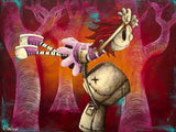 "Fabio Napoleoni-"" The way I feel when I with You "" -Limited Edition 122- 20"" by 24""-Canvas Giclee - Art Center Gallery"