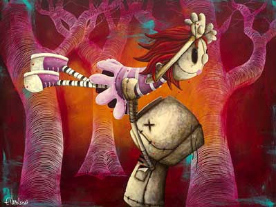 "Fabio Napoleoni ""The Way I Feel When I'm With You"" Limited Edition Canvas Giclee"