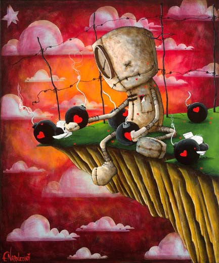 "Fabio Napoleoni-""Just a little dose of Compassion "" - Limited Edition- 20"" by 25"" -Art Center Gallery www.shopartcenter.com  1-866-254-6523"
