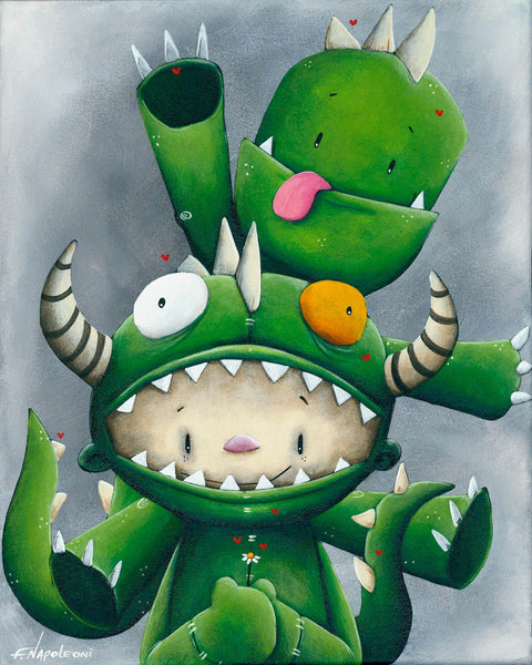 "Fabio Napoleoni ""Never a Dull Moment"" Limited Edition Canvas Giclee"