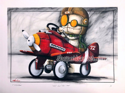 "Fabio Napoleoni ""Next Level Here I Come"" Limited Edition Paper Giclee"
