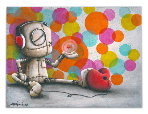 "Fabio Napoleoni ""Nostalgic Soundtrack"" Limited Edition Canvas Giclee"