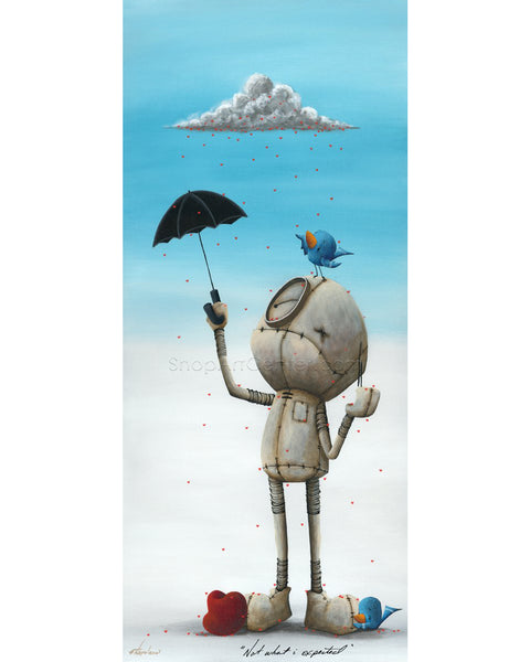 "Fabio Napoleoni ""Not what I Expected"" Limited Edition Metal"