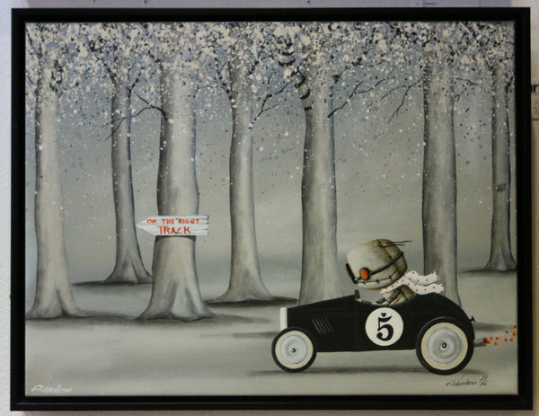 "Fabio Napoleoni ""Framed: On The Right Track"" Limited Edition"