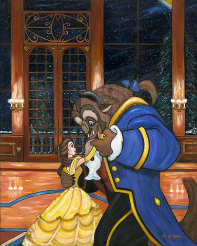 "Paige O'Hara Disney ""First Dance"" Limited Edition Canvas Giclee"