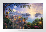 "Thomas Kinkade Disney Dreams ""Pinocchio Wishes Upon a Star"" Canvas OR Paper Limited Giclee"