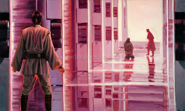 "Rodel Gonzalez Star Wars ""Patience"" Limited Edition Canvas Giclee"