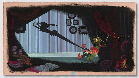 "Lorelay Bové Disney ""Peter's Shadow"" Limited Edition Paper Giclee"