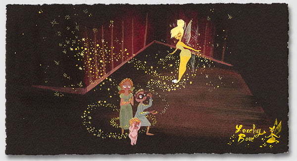 "Lorelay Bové Disney ""Pixie Dust"" Limited Edition Paper Giclee"