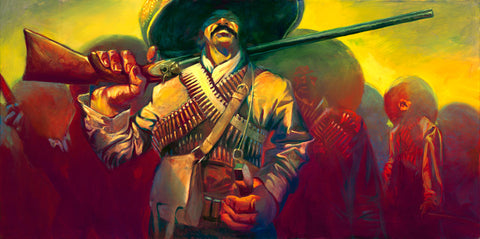 "Gabe Leonard ""Pancho Villa"" Limited Edition Canvas Giclee"