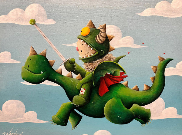 "Fabio Napoleoni ""Protector of the Realm"" Limited Edition Canvas Giclee"
