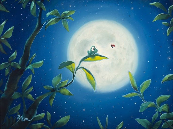 "Rob Kaz ""Moonlight Meeting"" Canvas Giclee"