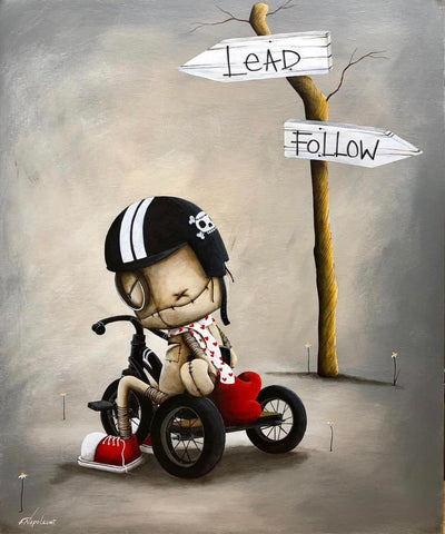 "Fabio Napoleoni ""Rebel"" (Outcast 3) Limited Edition Paper Giclee"