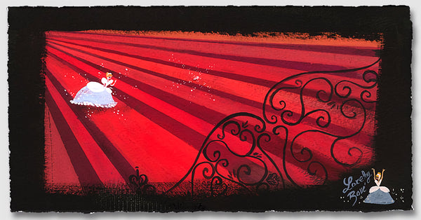 "Lorelay Bové Disney ""Red Staircase"" Limited Edition Paper Giclee"