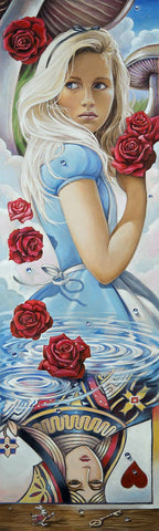 "Edson Campos Disney ""Reflections of Wonderland"" Limited Edition Canvas Giclee"