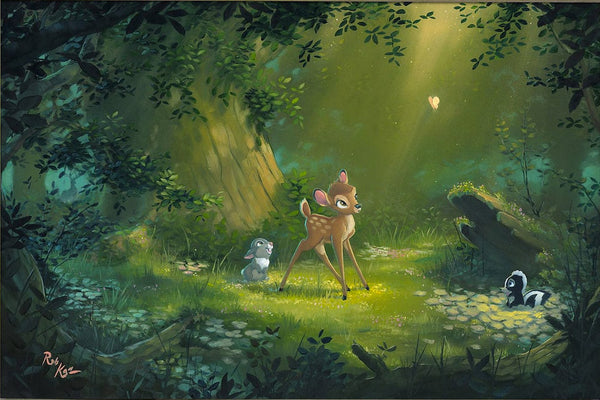 "Rob Kaz Disney ""The Beauty of Life"" Limited Edition Canvas Giclee"