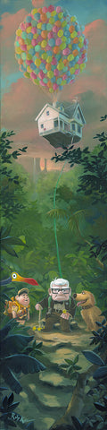 "Rob Kaz Disney ""Carl's New Adventure"" Limited Edition Canvas Giclee"
