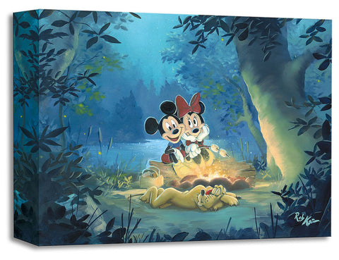 "Rob Kaz Disney ""Family Campout"" Limited Edition Canvas Giclee"
