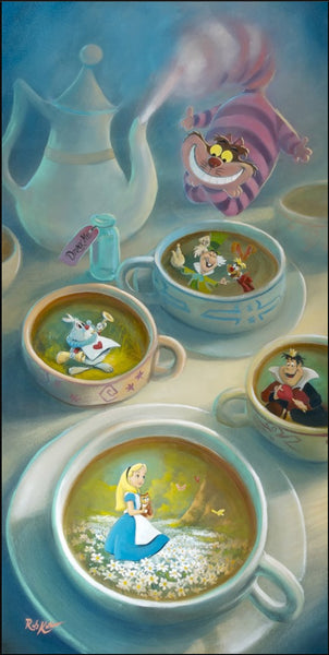 "Rob Kaz Disney ""Imagination is Brewing"" Limited Edition Canvas Giclee"