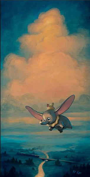 "Rob Kaz Disney ""Joy of Flight"" Limited Edition Canvas Giclee"