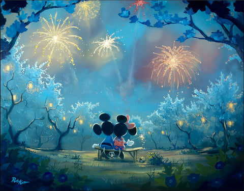 "Rob Kaz Disney ""Memories of Summer"" Limited Edition Canvas Giclee"