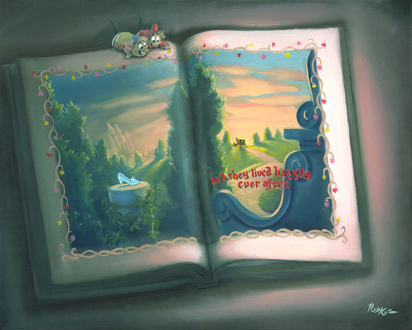 "Rob Kaz Disney ""Our Storybook"" Limited Edition Canvas Giclee"