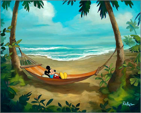 "Rob Kaz Disney ""Rest and Relaxation"" Limited Edition Canvas Giclee"