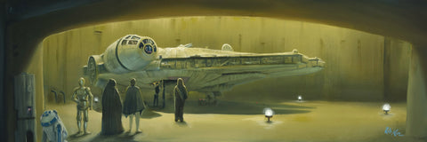 "Rob Kaz Star Wars ""Boarding the Falcon"" Limited Edition Canvas Giclee"